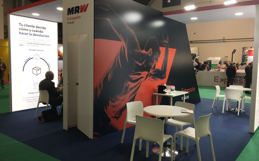 MRW – Stand en eDelivery Barcelona