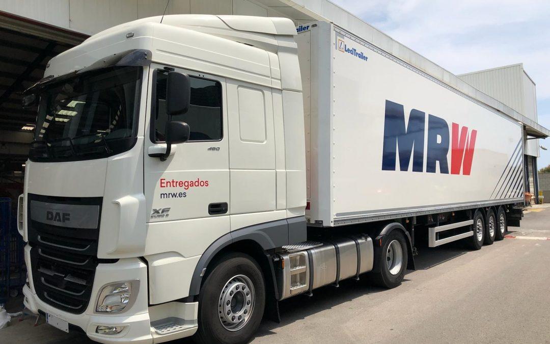 MRW Entregados Rotulación flotas de vehiculos
